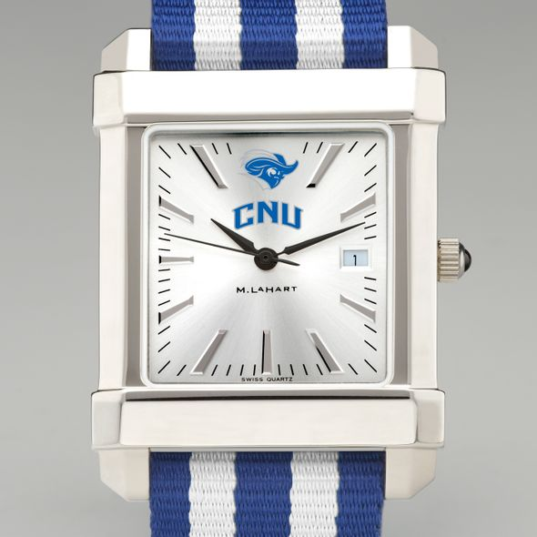 Christopher Newport University Collegiate Watch with NATO Strap for Men