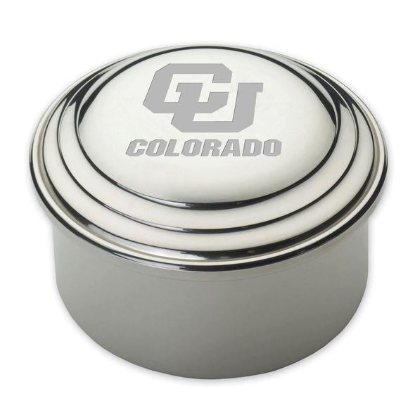 Colorado Pewter Keepsake Box - Image 1