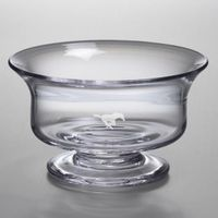 SMU Medium Glass Revere Bowl by Simon Pearce