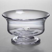 SMU Medium Glass Revere Bowl by Simon Pearce