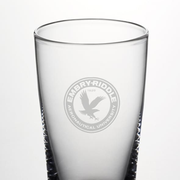 Embry-Riddle Ascutney Pint Glass by Simon Pearce - Image 2