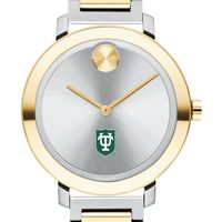 Tulane University Women's Movado Two-Tone Bold 34