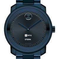 NYU Stern School of Business Men's Movado BOLD Blue Ion with Bracelet