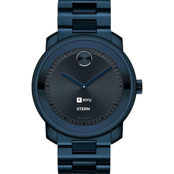 NYU Stern School of Business Men's Movado BOLD Blue Ion with Bracelet - Image 2