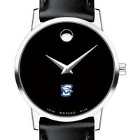 Creighton Women's Movado Museum with Leather Strap