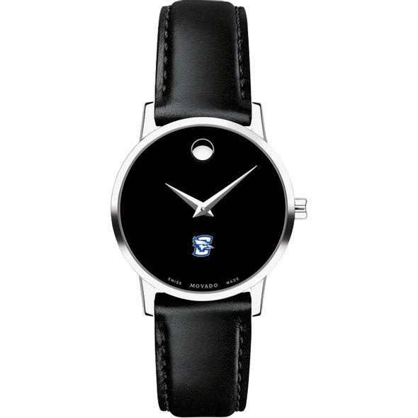 Creighton Women's Movado Museum with Leather Strap - Image 2