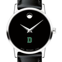 Dartmouth College Women's Movado Museum with Leather Strap