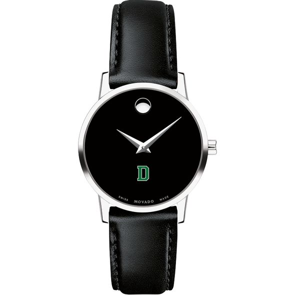 Dartmouth College Women's Movado Museum with Leather Strap - Image 2