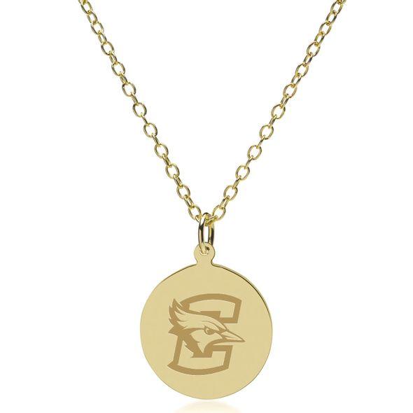 Creighton 14K Gold Pendant & Chain - Image 2