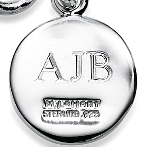 James Madison University Necklace with Charm in Sterling Silver - Image 3