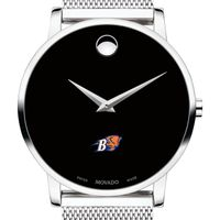 Bucknell University Men's Movado Museum with Mesh Bracelet