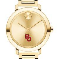Boston University Women's Movado Gold Bold 34