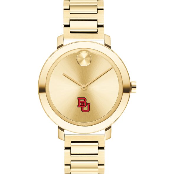 Boston University Women's Movado Gold Bold 34 - Image 2