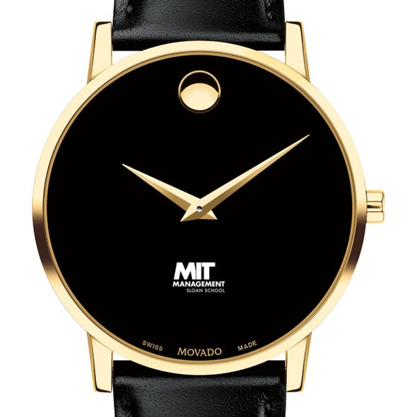 MIT Sloan Men's Movado Gold Museum Classic Leather - Image 1