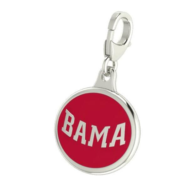 Alabama Enameled Charm with Lobster Claw Clasp - Image 2