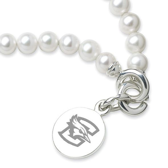 Creighton Pearl Bracelet with Sterling Silver Charm - Image 2
