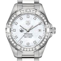 Williams College W's TAG Heuer Steel Aquaracer with MOP Dia Dial & Bezel