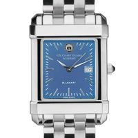 Coast Guard Academy Men's Steel Quad Blue Dial with Bracelet