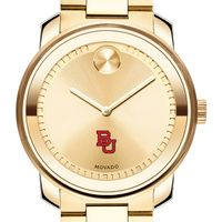 Boston University Men's Movado Gold Bold