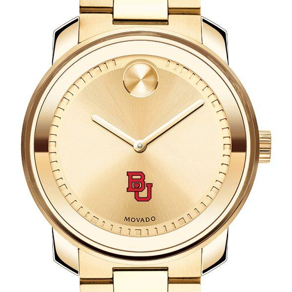 Boston University Men's Movado Gold Bold