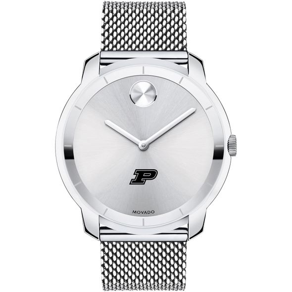 Purdue University Men's Movado Stainless Bold 44 - Image 2