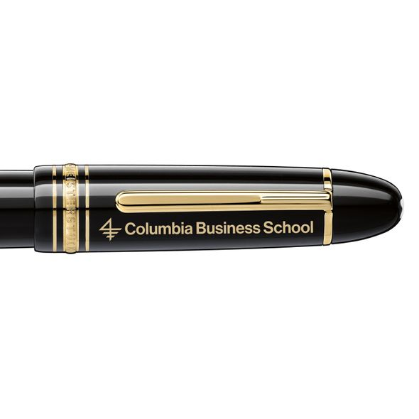 Columbia Business Montblanc Meisterstück 149 Fountain Pen in Gold - Image 2