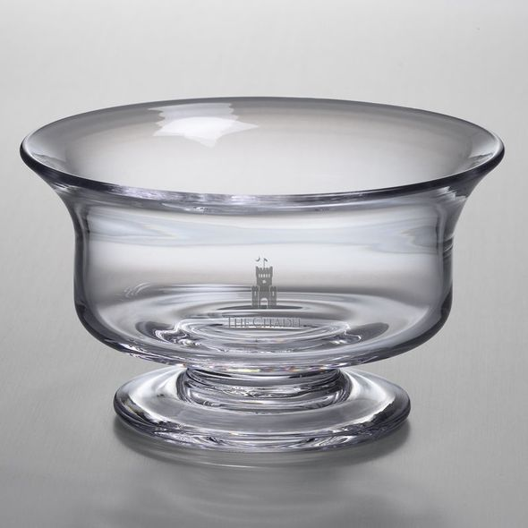Citadel Medium Glass Revere Bowl by Simon Pearce