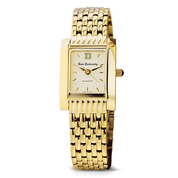 Duke Women's Gold Quad Watch with Bracelet - Image 2