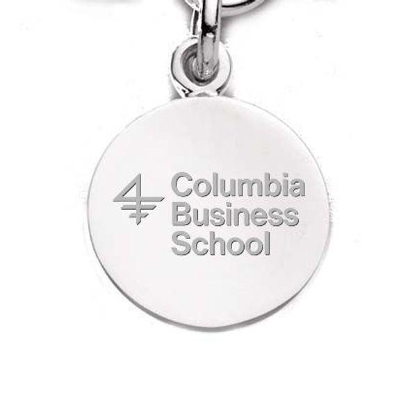 Columbia Business Sterling Silver Charm