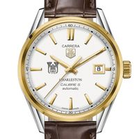 College of Charleston Men's TAG Heuer Two-Tone Carrera with Strap