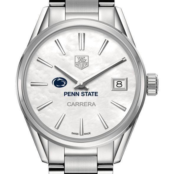 Penn State University Women's TAG Heuer Steel Carrera with MOP Dial