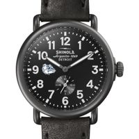 Gonzaga Shinola Watch, The Runwell 41mm Black Dial