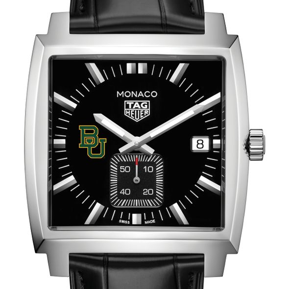 Baylor University TAG Heuer Monaco with Quartz Movement for Men - Image 1