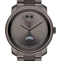 Christopher Newport University Men's Movado BOLD Gunmetal Grey