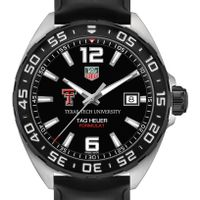 Texas Tech Men's TAG Heuer Formula 1 with Black Dial
