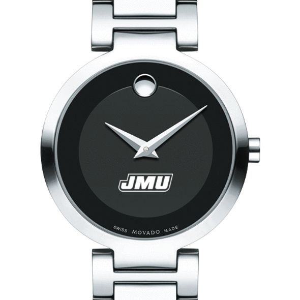 James Madison University Women's Movado Museum with Steel Bracelet