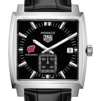 University of Wisconsin TAG Heuer Monaco with Quartz Movement for Men