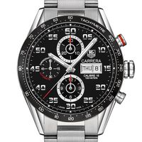 Virginia Tech Men's TAG Heuer Carrera Tachymeter