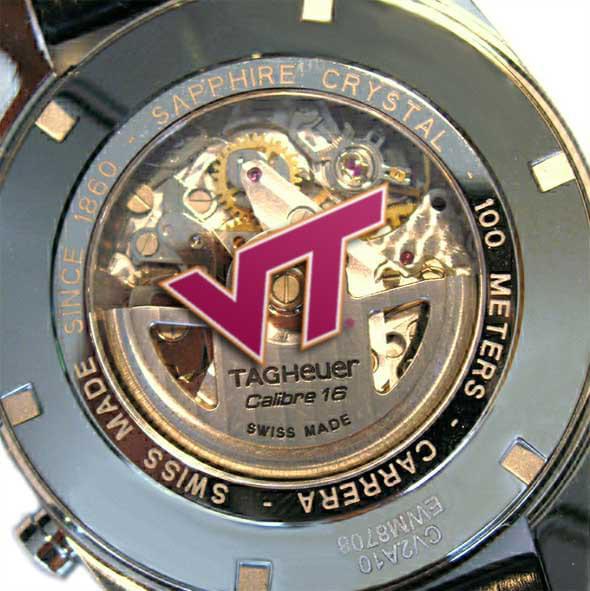 Virginia Tech Men's TAG Heuer Carrera Tachymeter - Image 2