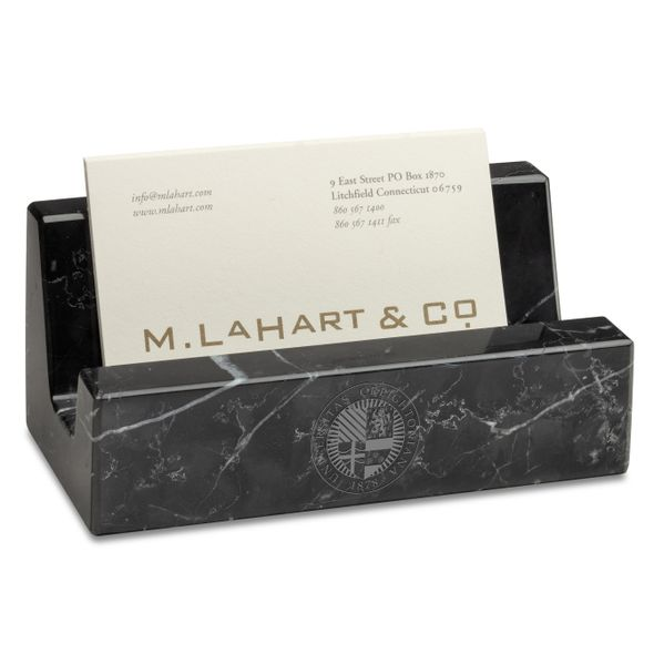 Creighton Marble Business Card Holder - Image 1