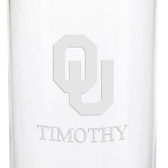 Oklahoma Iced Beverage Glasses - Set of 2 - Image 3