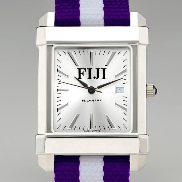Phi Gamma Delta Men's Collegiate Watch w/ NATO Strap - Image 1