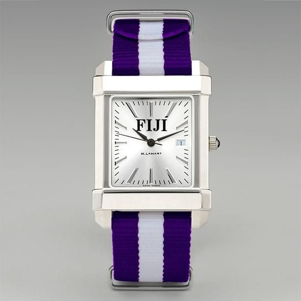 Phi Gamma Delta Men's Collegiate Watch w/ NATO Strap - Image 2