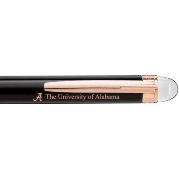 Alabama Montblanc StarWalker Ballpoint Pen in Red Gold - Image 2