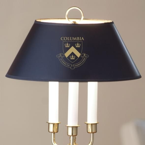 Columbia University Lamp in Brass & Marble - Image 2