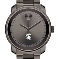 Michigan State University Men's Movado BOLD Gunmetal Grey