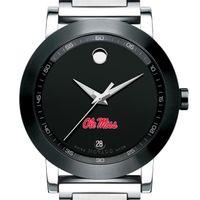Ole Miss Men's Movado Museum Sport Bracelet