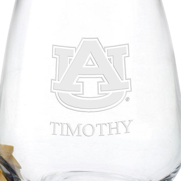 Auburn University Stemless Wine Glasses - Set of 2 - Image 3