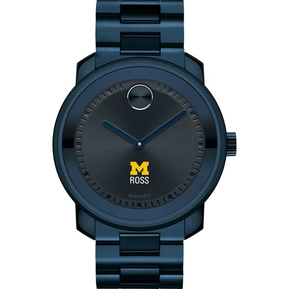 Ross School of Business Men's Movado BOLD Blue Ion with Bracelet - Image 2