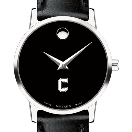 College of Charleston Women's Movado Museum with Leather Strap